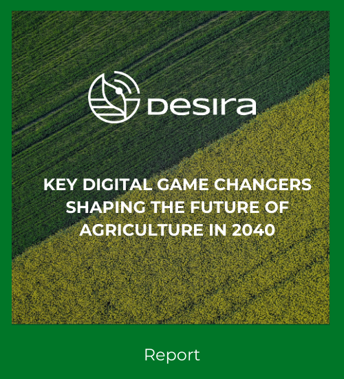 Key digital game changers shaping the future of agriculture