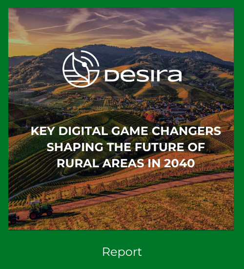 Key digital game changers shaping the future of rural areas